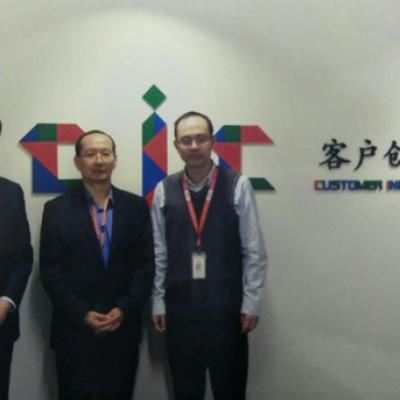 美国XG SCIENCES公司CTO访问陶氏亚太研发中心