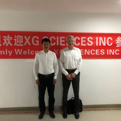 美国XG公司CEO Dr. Rose 参观访问GADC