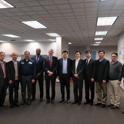 中化化工事业部访问美国XG SCIENCES公司