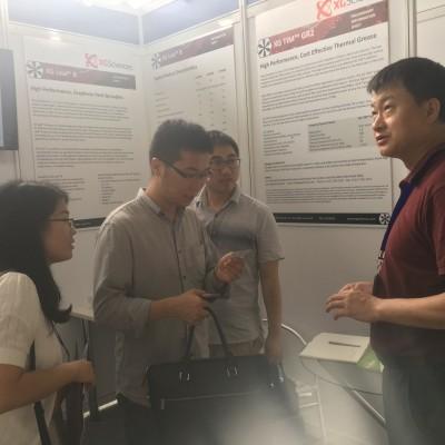 帕吉索代表美国XG公司参展2017中国国际碳材料大会